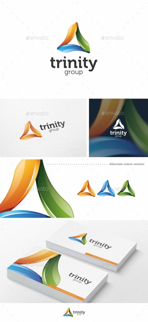 Trinity Group - Logo Template - Symbols Logo Templates