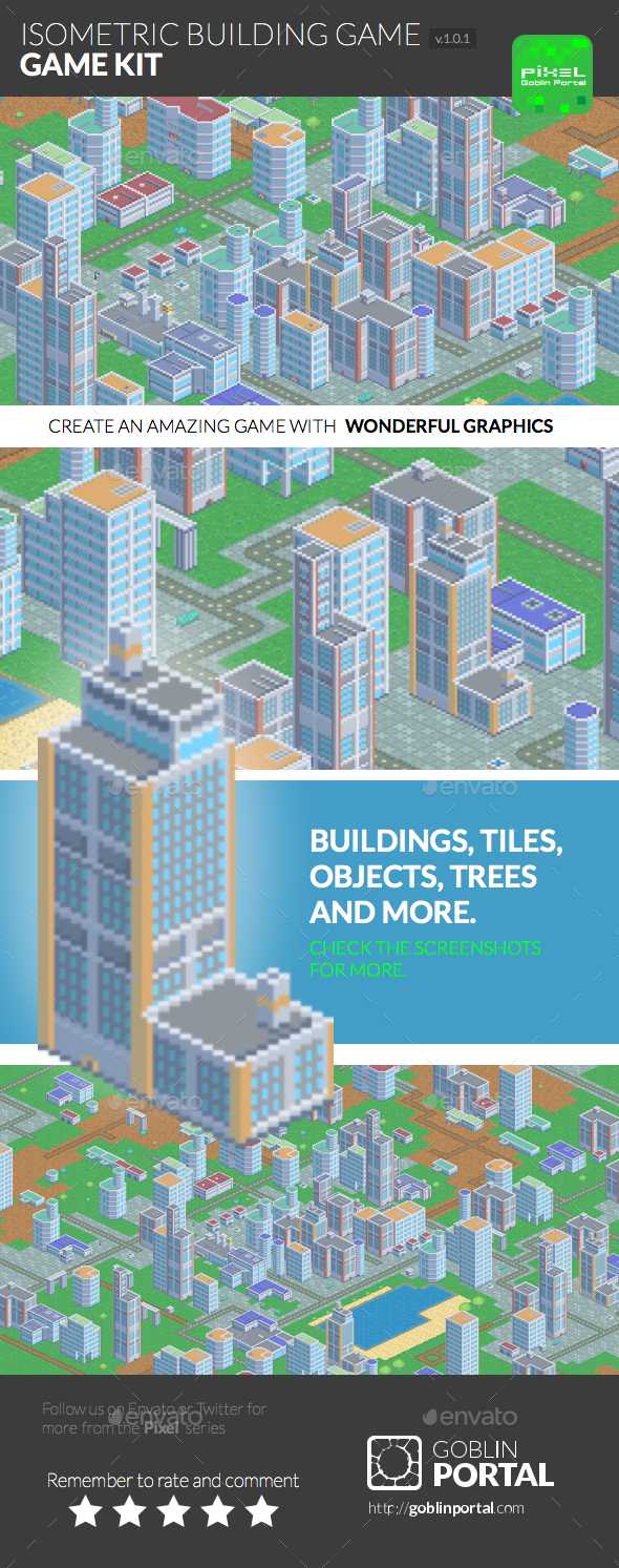 Isometric Building Game Kit - Miscellaneous Game Assets