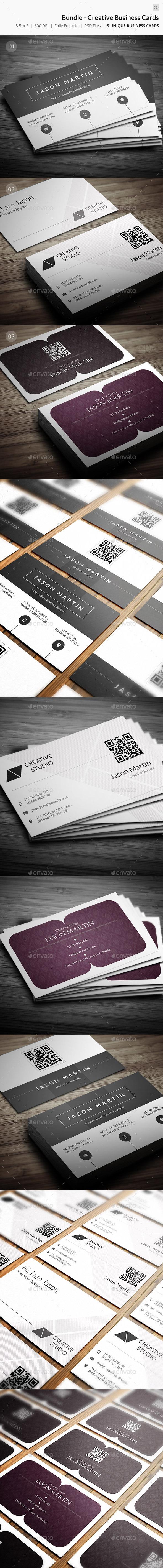 Bundle - Creative Business Cards - 58 - Creative Business Cards
