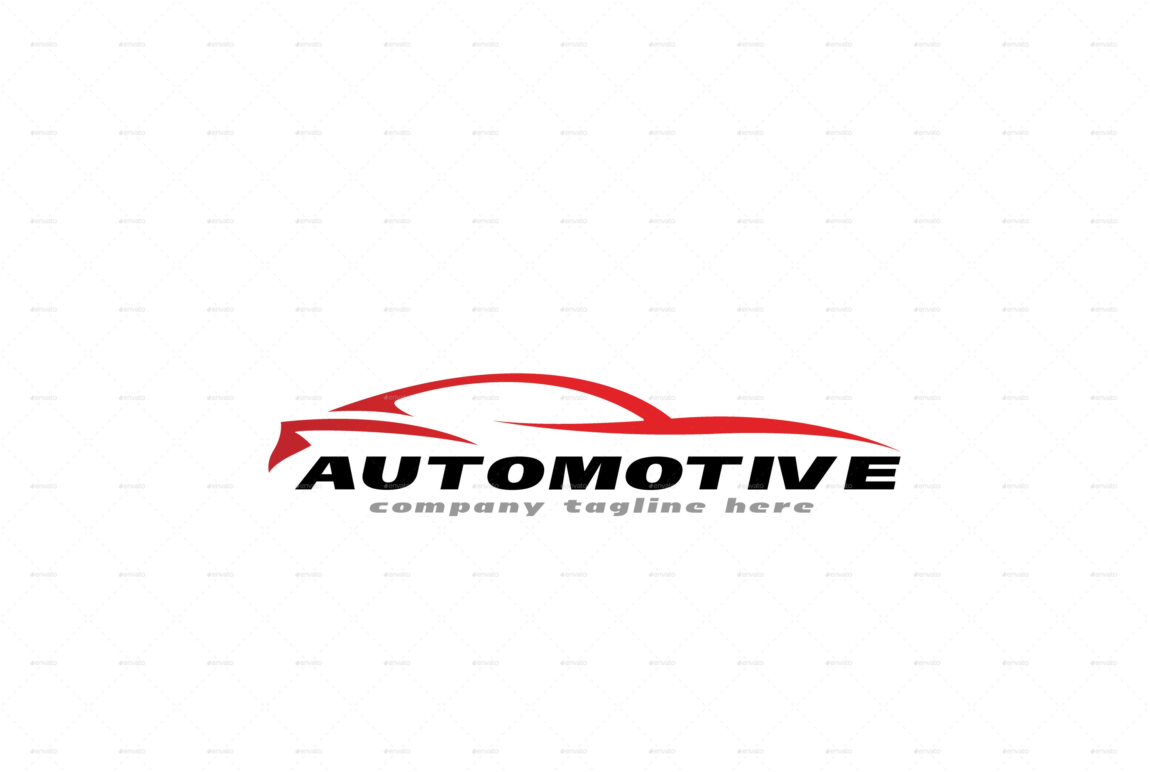 Automotive logo template by 1pointstudio graphicriver for Envato graphicriver