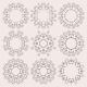 Round Ornament Set on Background - GraphicRiver Item for Sale