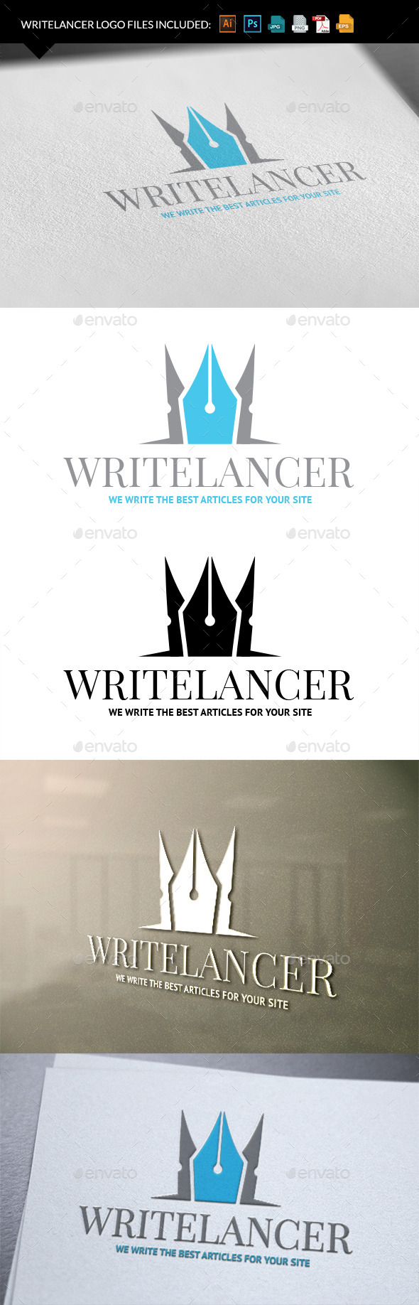 Book Publisher logo template - Objects Logo Templates