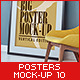 Posters Mock-Up vol.10 - GraphicRiver Item for Sale