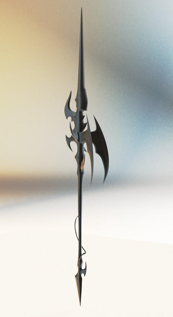 gae bolg animus - 3DOcean Item for Sale