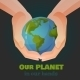 Hands Holding the Earth - GraphicRiver Item for Sale