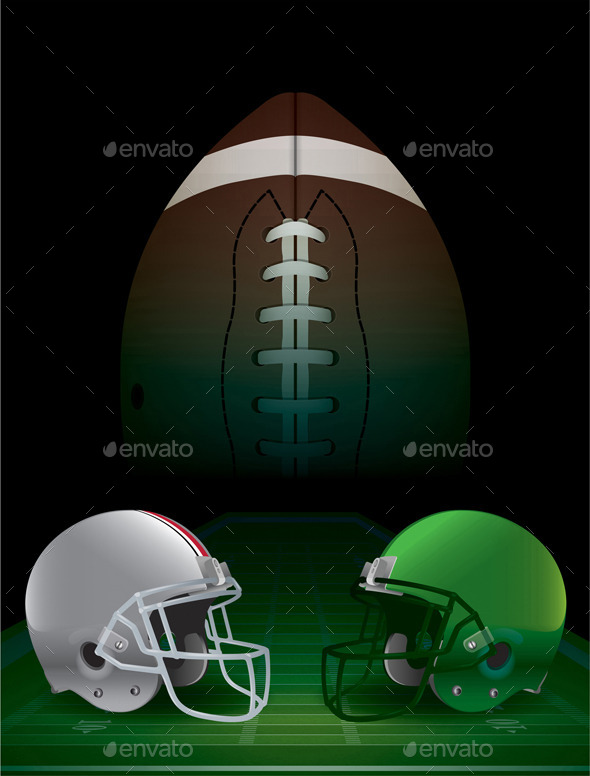 American Football National Championship - Sports/Activity Conceptual