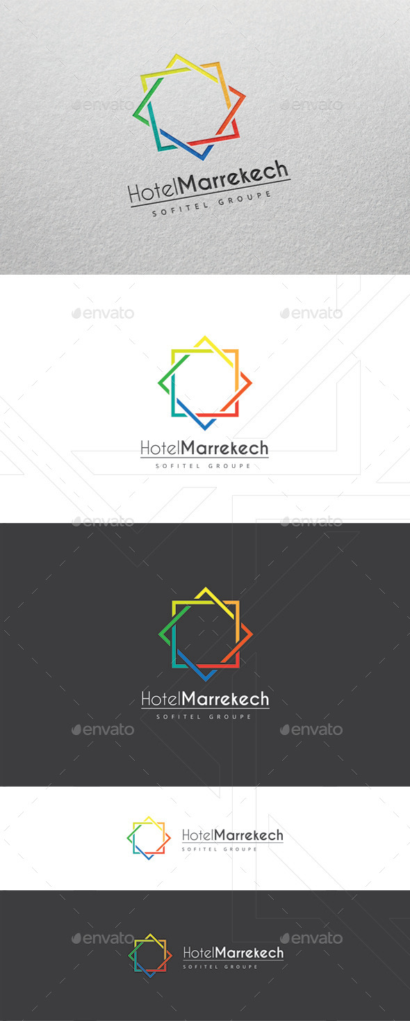 Marrekech - Logo Template - Abstract Logo Templates