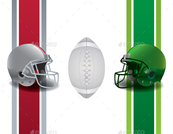 American Football Championship Background - Sports/Activity Conceptual