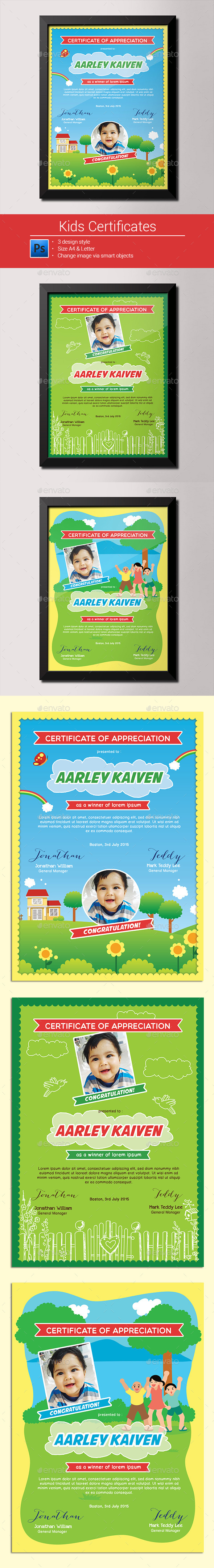 Kids Certificates - Certificates Stationery