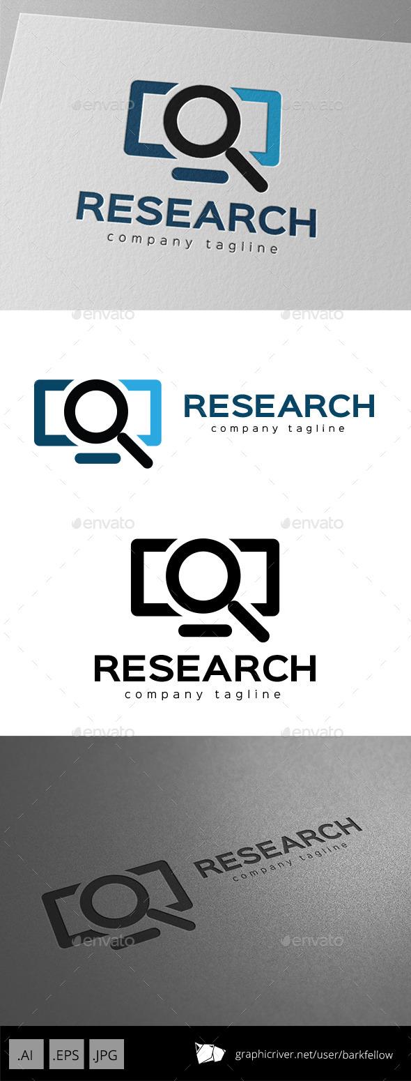 Internet Research Logo Design - Symbols Logo Templates
