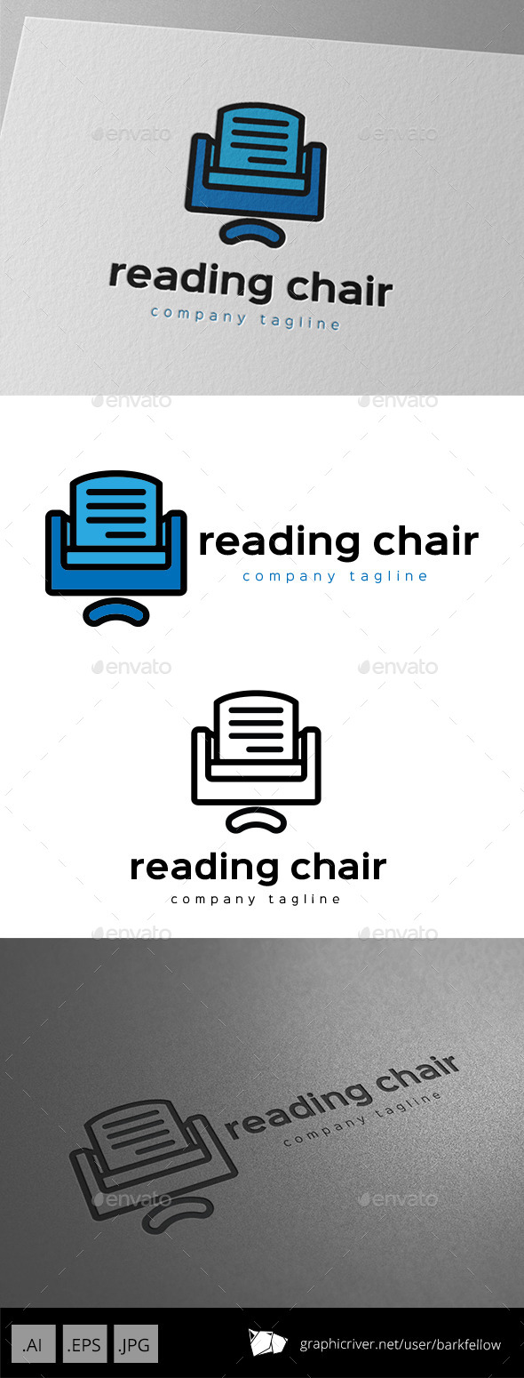 Reading Chair Logo - Symbols Logo Templates