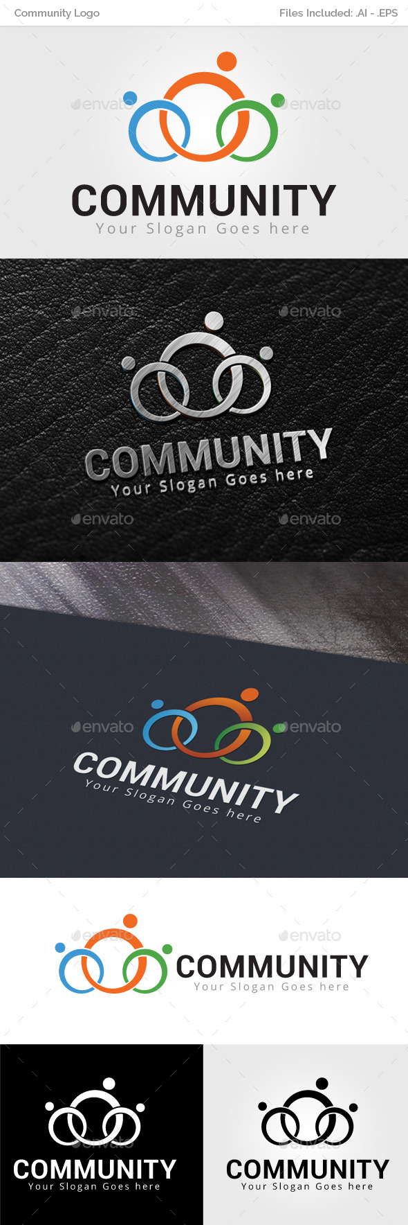Community Logo Template - Objects Logo Templates