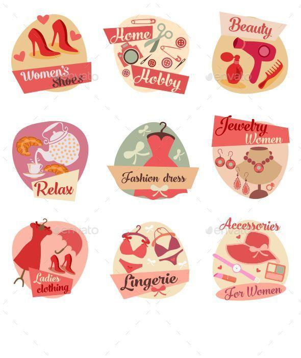 Fashion Flat Icons  - Miscellaneous Conceptual