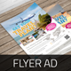Travel Agency Flyer Ad v2  - GraphicRiver Item for Sale