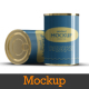 Canned \ Tinned Food Mockups - GraphicRiver Item for Sale