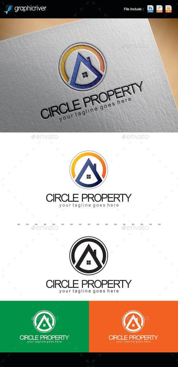 Circle Property Logo Templates - Symbols Logo Templates