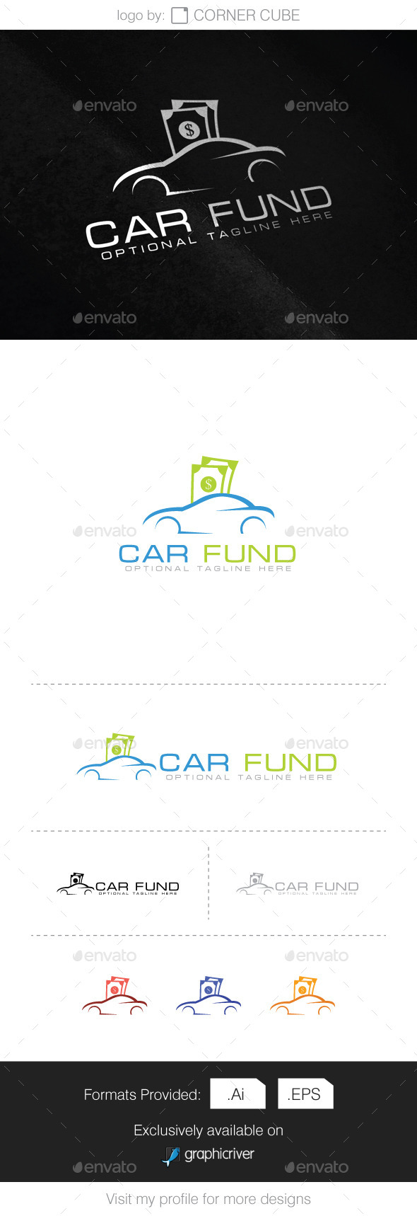 Car Fund Logo - Logo Templates