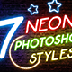 Neon Photoshop Styles - GraphicRiver Item for Sale