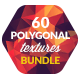60 Low-Poly Polygonal Background Textures Bundle - GraphicRiver Item for Sale