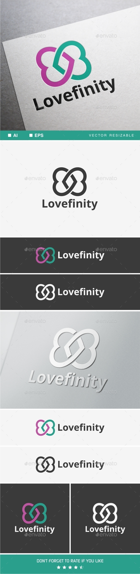 Lovefinity - Objects Logo Templates
