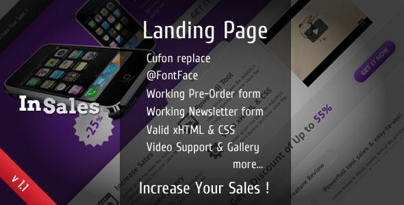 Free Download InSales Landing Page Nulled Latest Version