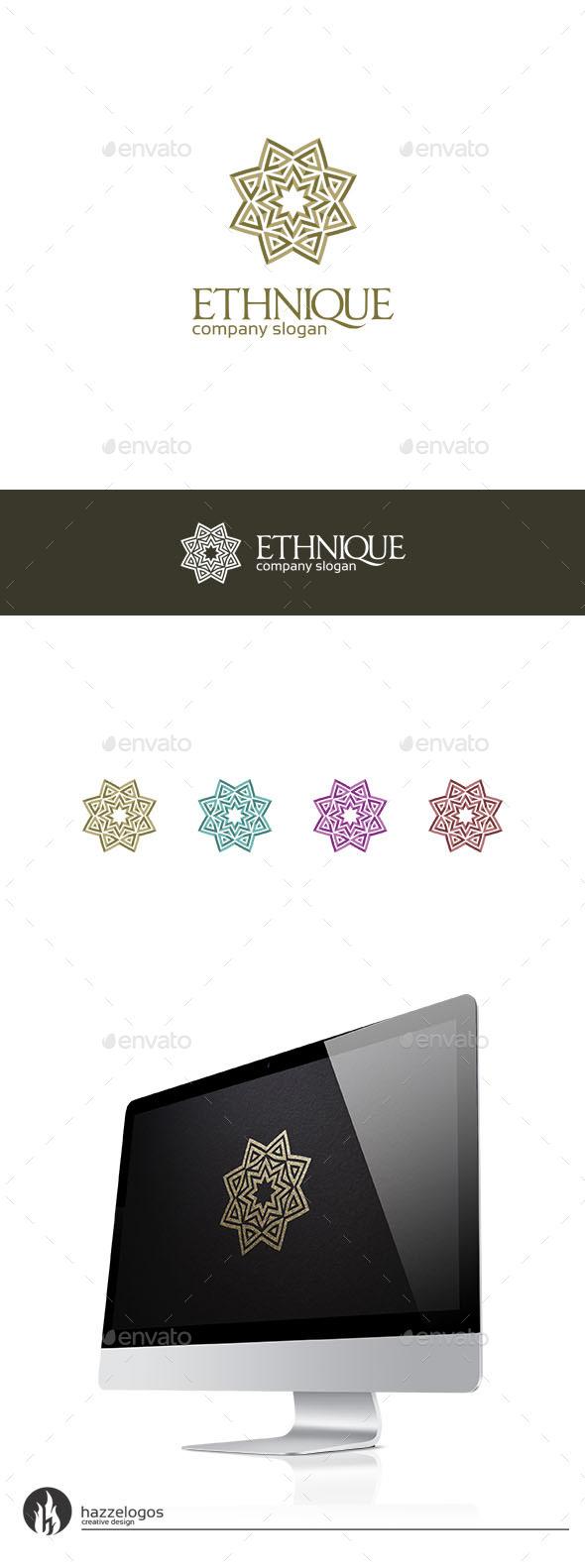 Ethnique Logo - Abstract Logo Templates