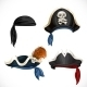 Pirate Hats - GraphicRiver Item for Sale
