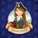 Woman Pirate - GraphicRiver Item for Sale