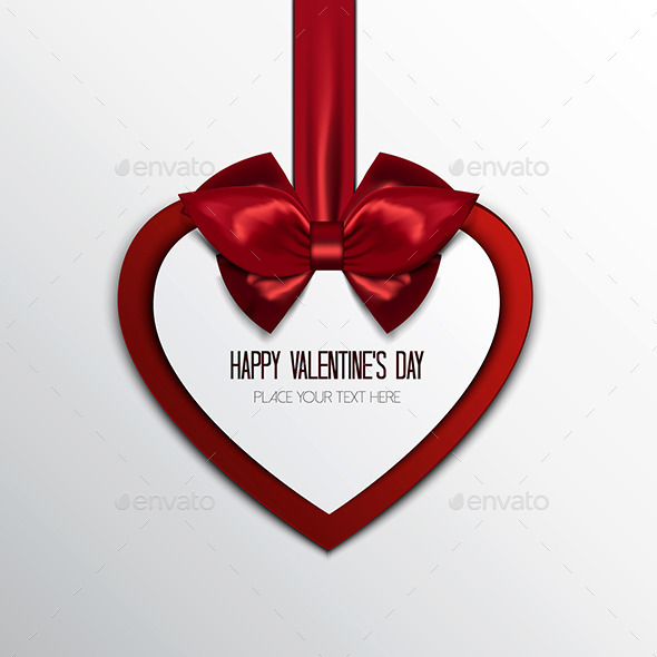 Valentine's Greeting Card Background - Valentines Seasons/Holidays