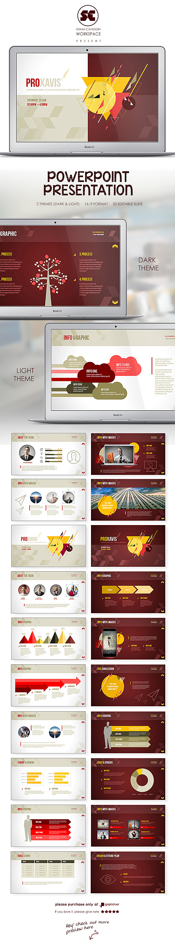 Elegant PowerPoint Presentation - Miscellaneous PowerPoint Templates