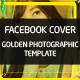 Golden Photography Facebook Cover Template - GraphicRiver Item for Sale