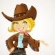 Cowgirl - GraphicRiver Item for Sale
