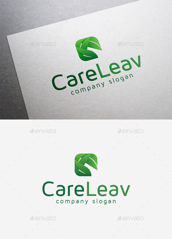 Care Leav Logo - Nature Logo Templates