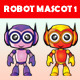 Robot Mascot 1 - GraphicRiver Item for Sale