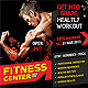 Fitness/Gym Flyer  - GraphicRiver Item for Sale