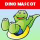 Dinosaurus Mascot - GraphicRiver Item for Sale