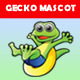Gecko Mascot - GraphicRiver Item for Sale