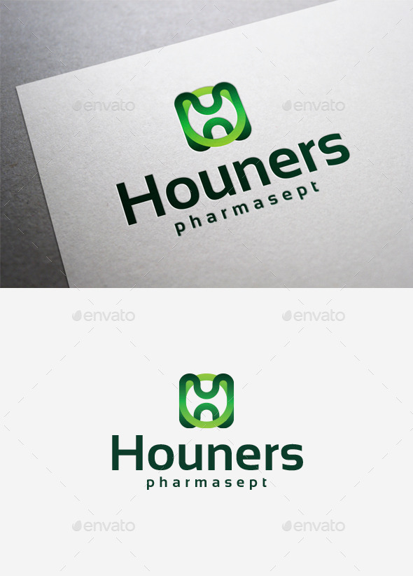 Houners Logo - Letters Logo Templates