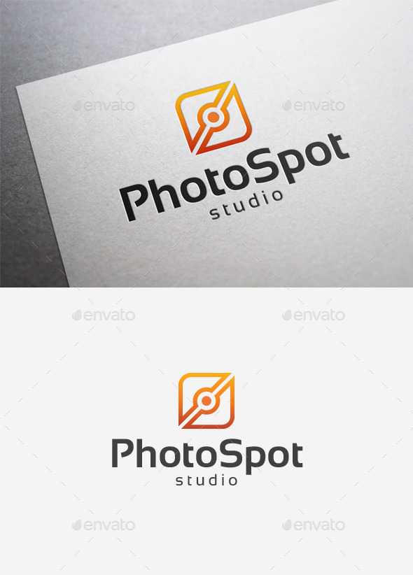 Photo Spot Logo - Abstract Logo Templates