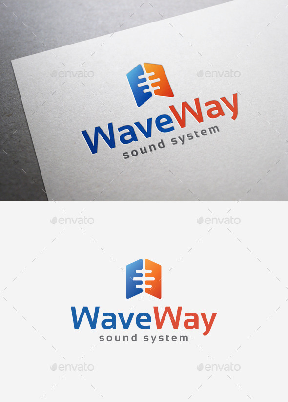 Wave Way Logo - Abstract Logo Templates
