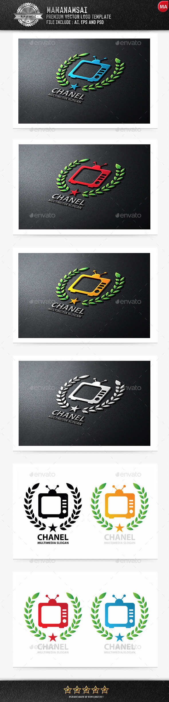 TV Chanel Logo - Logo Templates