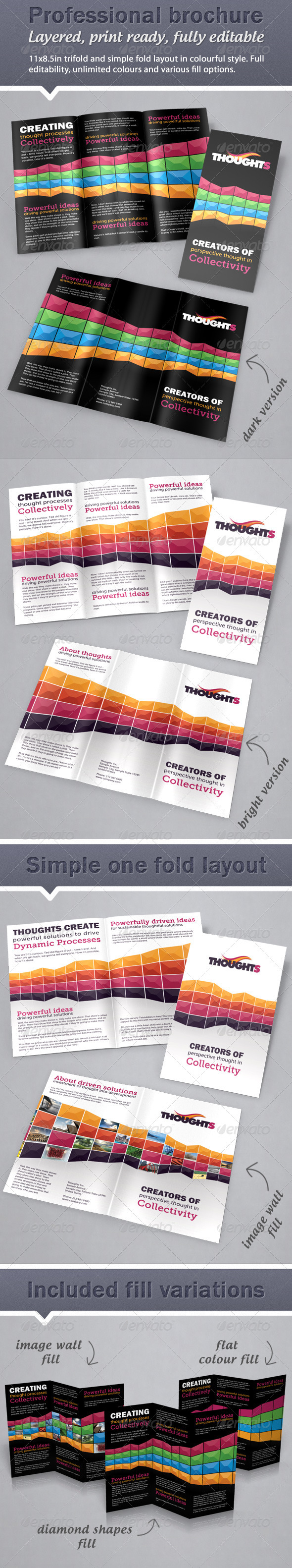 Professional Colourful Brochure - Corporate Brochures
