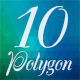10 Polygon Background Part 02 - GraphicRiver Item for Sale