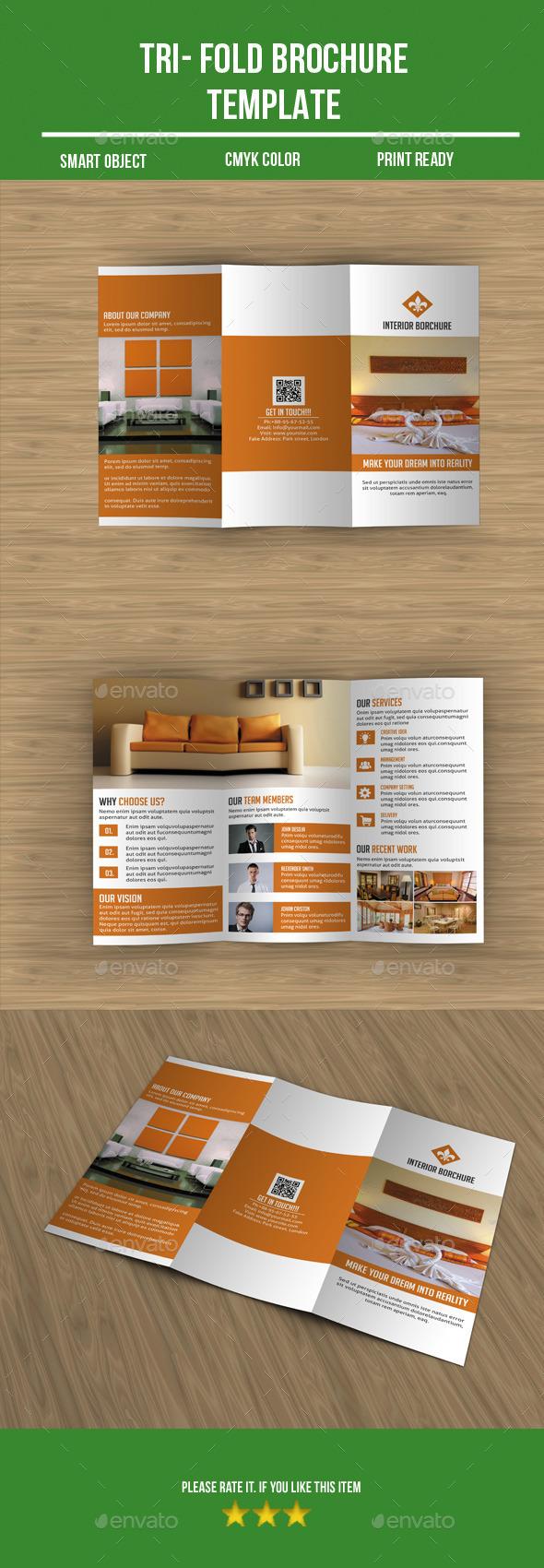 Interior Tri -Fold Brochure - Corporate Brochures
