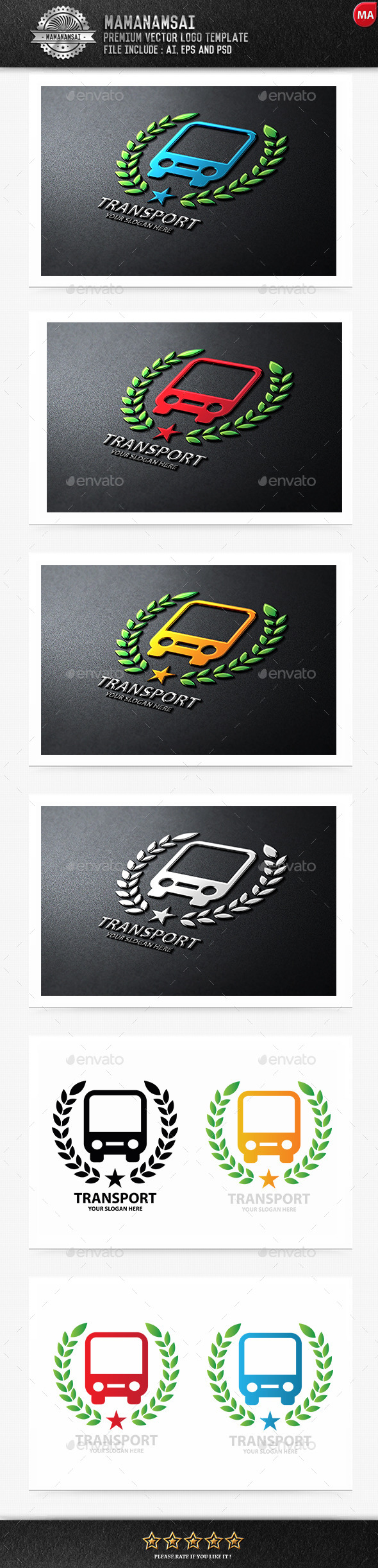 Transport Logo - Logo Templates