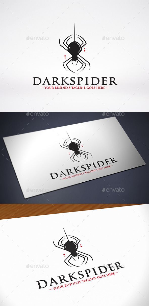 Spider Logo Template - Animals Logo Templates