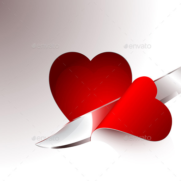 Cut a Slice of Red Heart - Valentines Seasons/Holidays