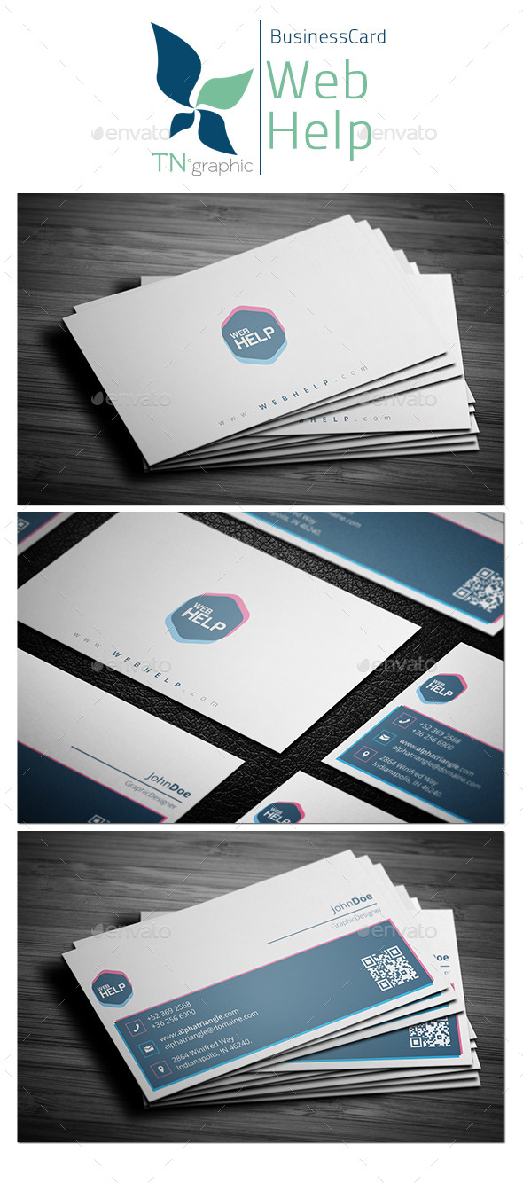 WebHelp - Business Card - Creative Business Cards
