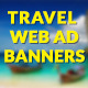 Travel Web Ad Banners - CodeCanyon Item for Sale