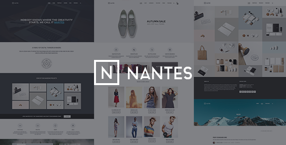 Nantes – Creative Ecommerce & Corporate Theme